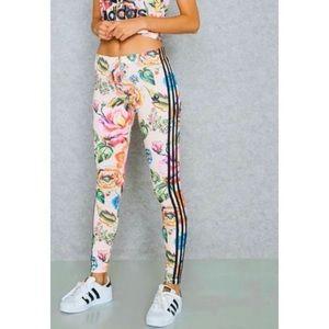 Adidas x Farm Trefoil Floralita Leggings XS